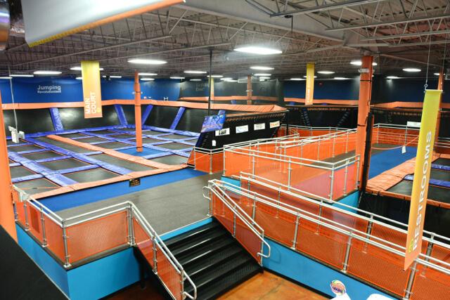 Sky Zone trampolines
