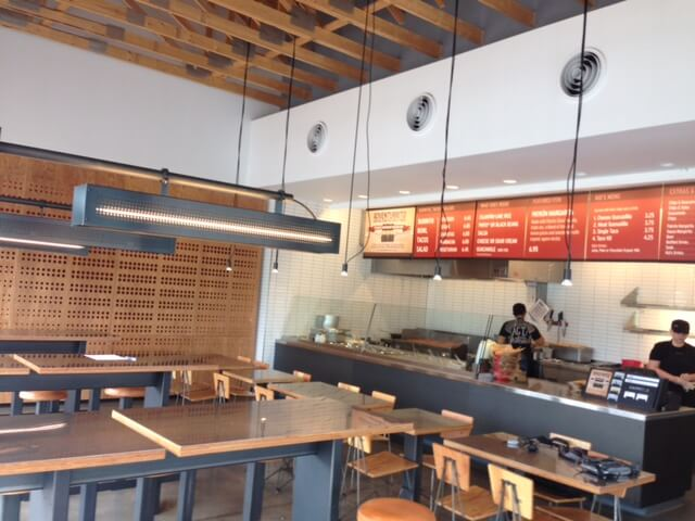 Chipotle Watertown Interior