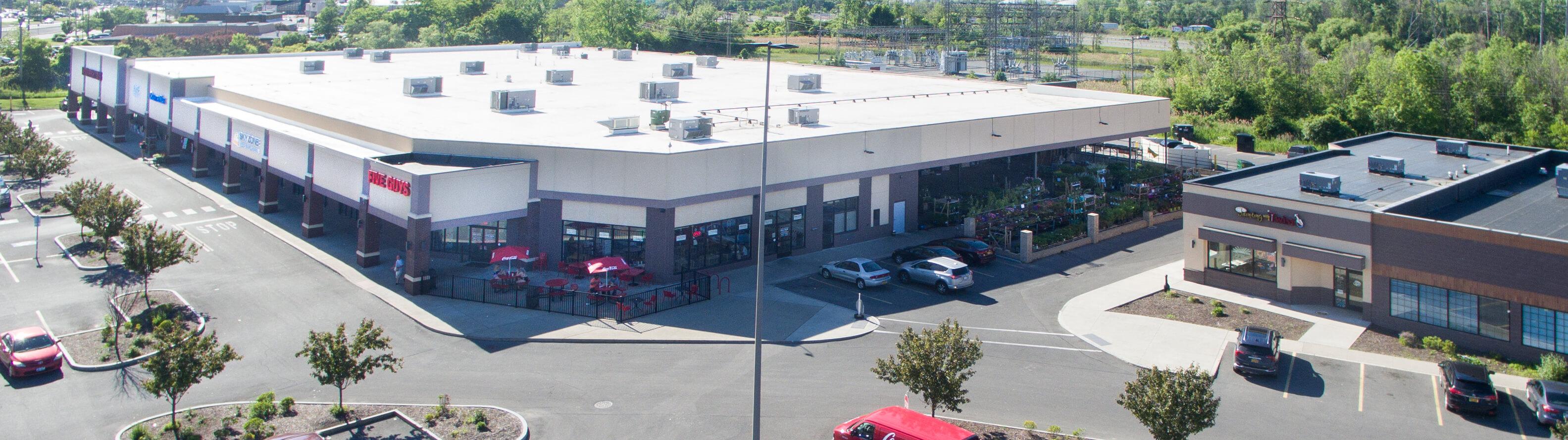 Dewitt Town Center Exterior Arial